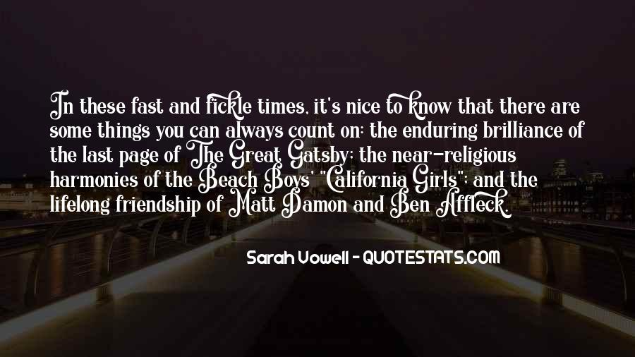 Great Gatsby Novel Quotes #695980