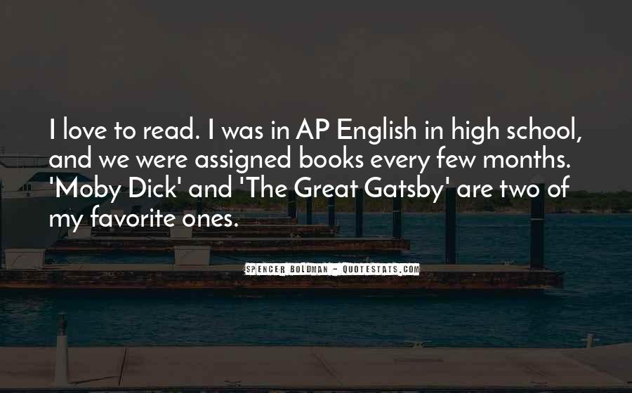 Great Gatsby Novel Quotes #729586