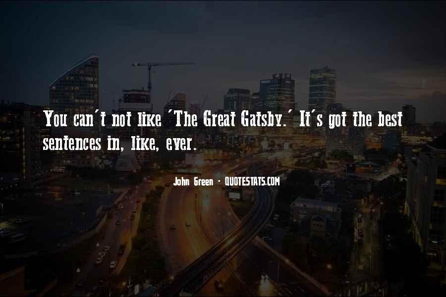 Great Gatsby Novel Quotes #765224