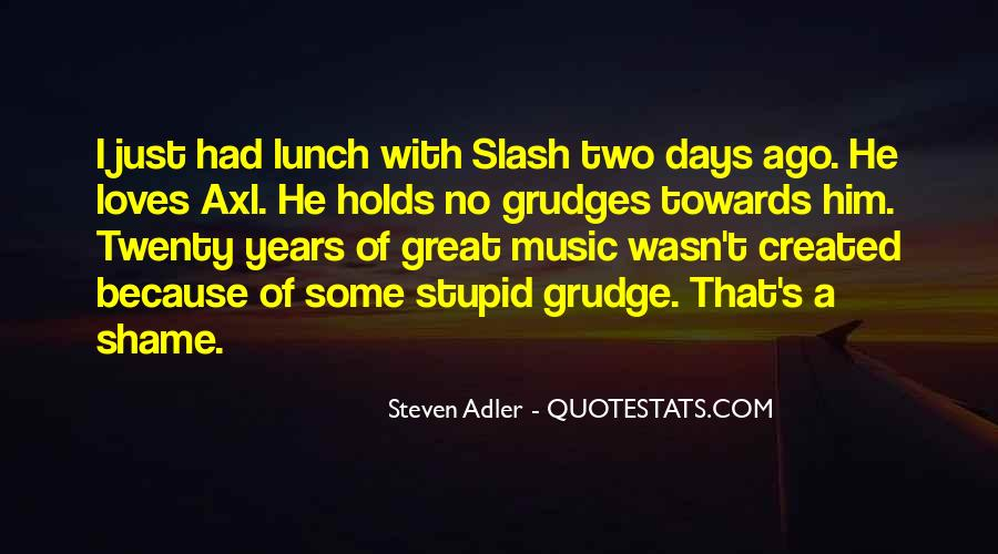 Great Grudge Quotes #276849