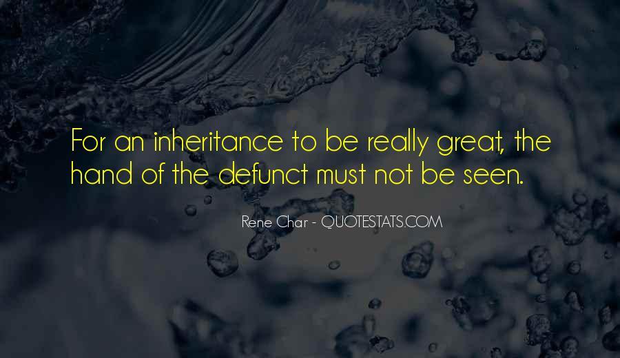 Great Inheritance Quotes #1085419