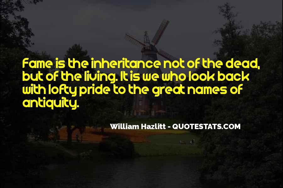 Great Inheritance Quotes #1175613