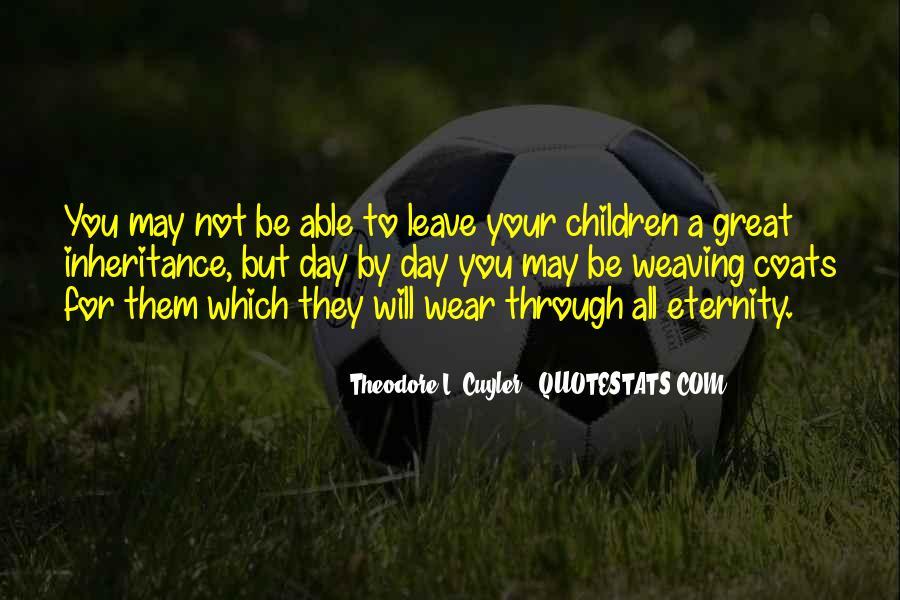 Great Inheritance Quotes #1539951