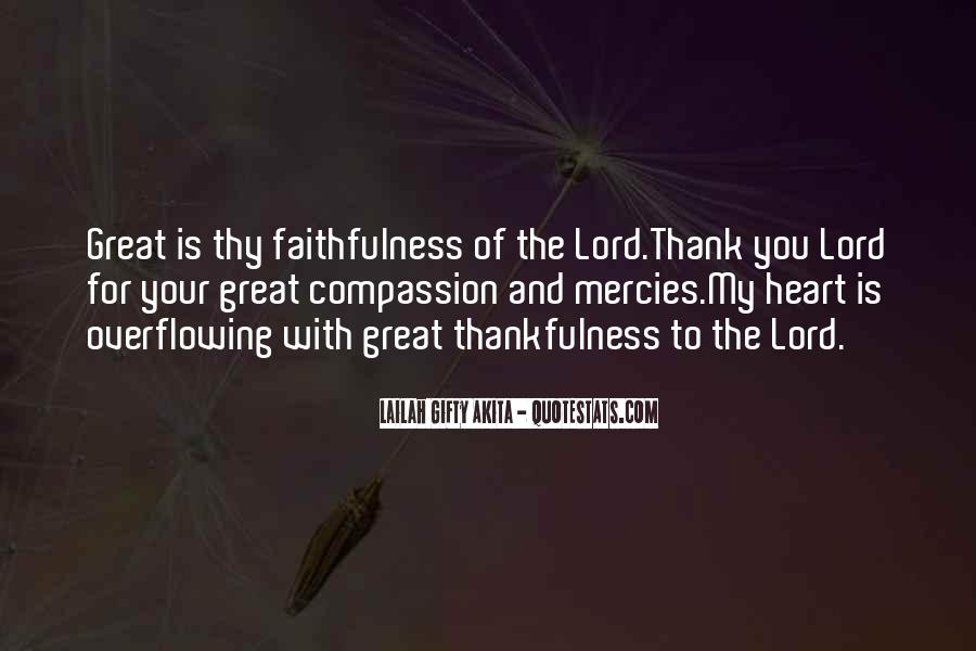 Great Is Thy Faithfulness Quotes #903925
