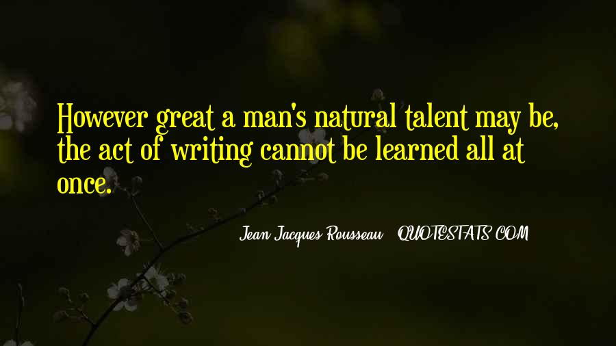 Great Man's Quotes #204108