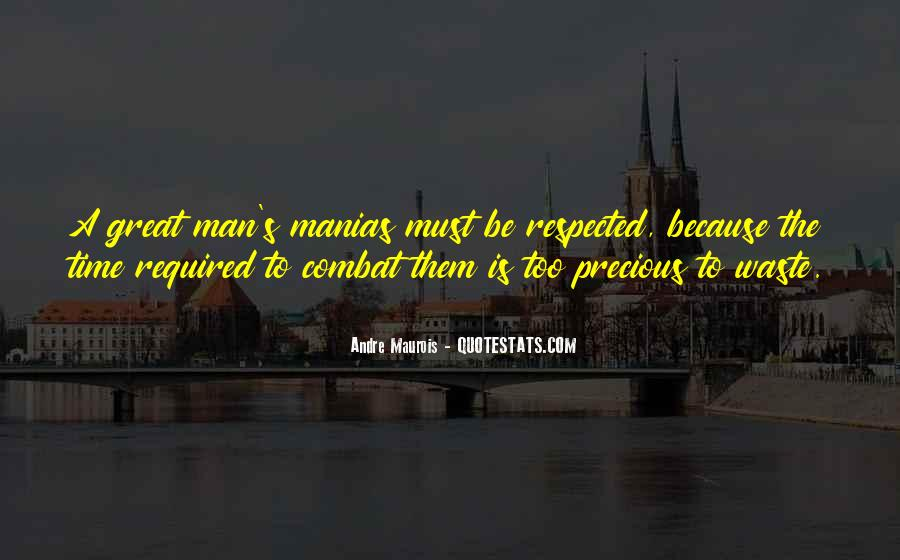Great Man's Quotes #312170