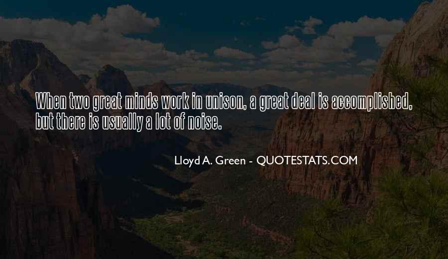 Great Minds Think Quotes #11614