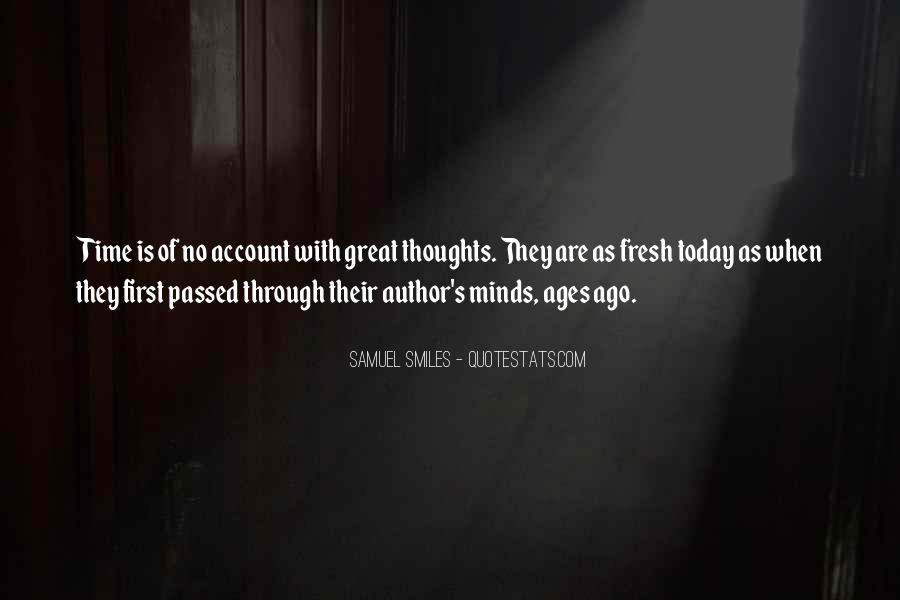 Great Minds Thoughts Quotes #1712951