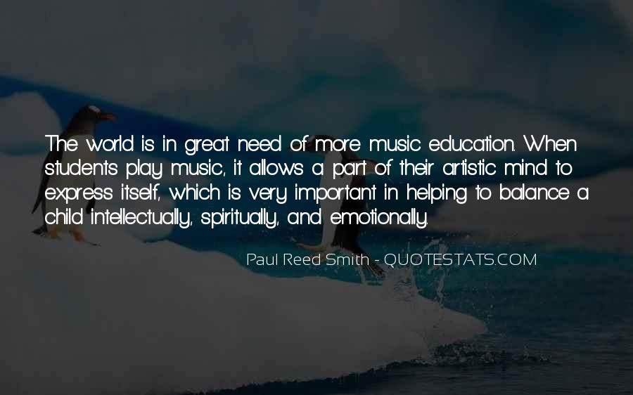 Great Music Education Quotes #1747083