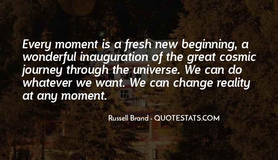 Great New Beginning Quotes #1806290