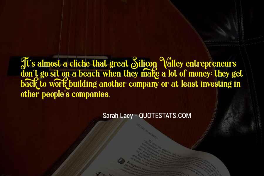 Great Non Cliche Quotes #1302105