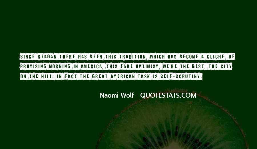 Great Non Cliche Quotes #705638