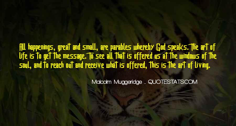 Great Parables Quotes #590273