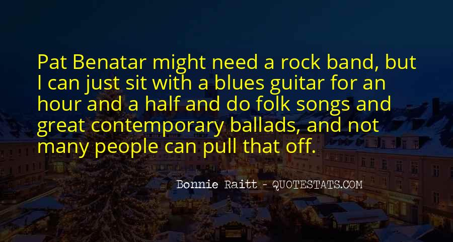 Great Rock Songs Quotes #1627369