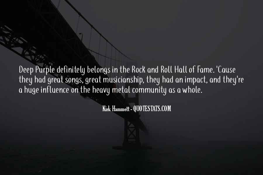 Great Rock Songs Quotes #1824876