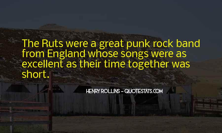 Great Rock Songs Quotes #286405