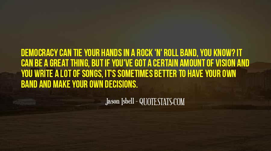 Great Rock Songs Quotes #292779