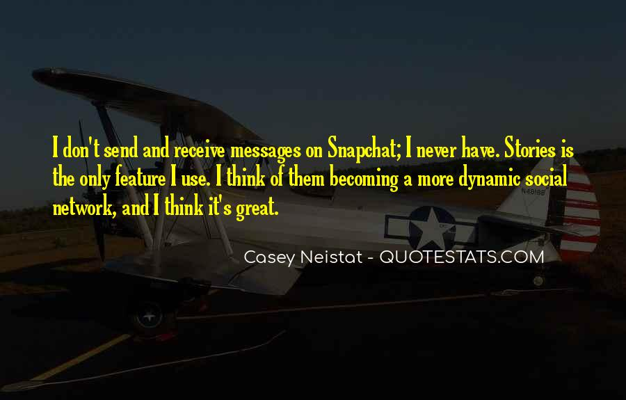 Great Snapchat Quotes #262895