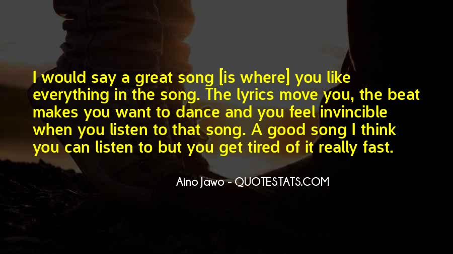 Top 33 Great Song Lyrics Quotes: Famous Quotes & Sayings ...