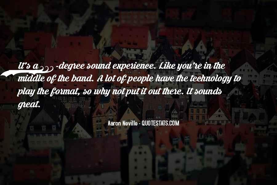 Great Sound Quotes #613335