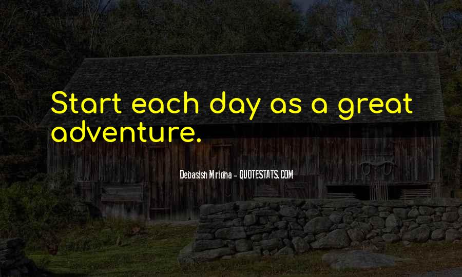 Great Start Your Day Quotes #414823