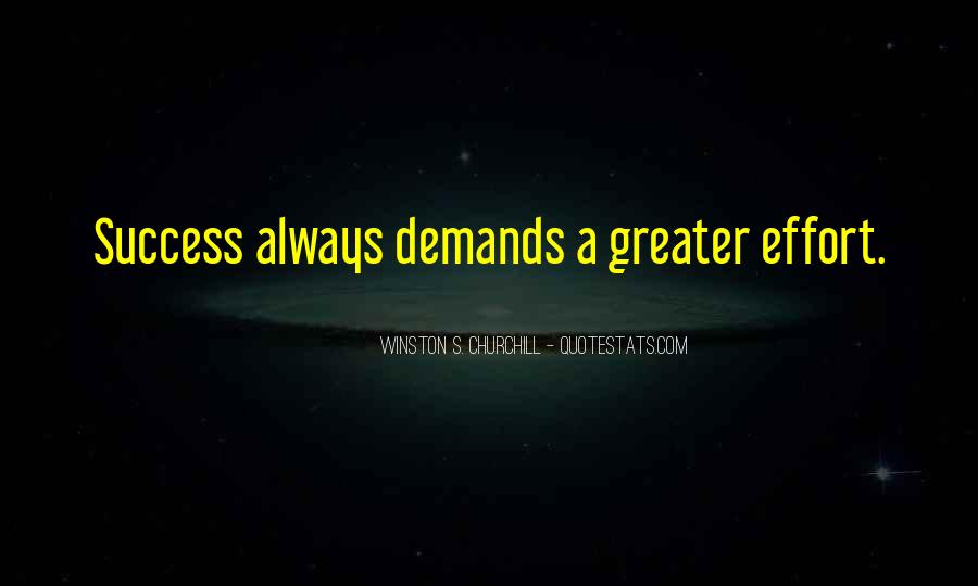 Greater Success Quotes #119718