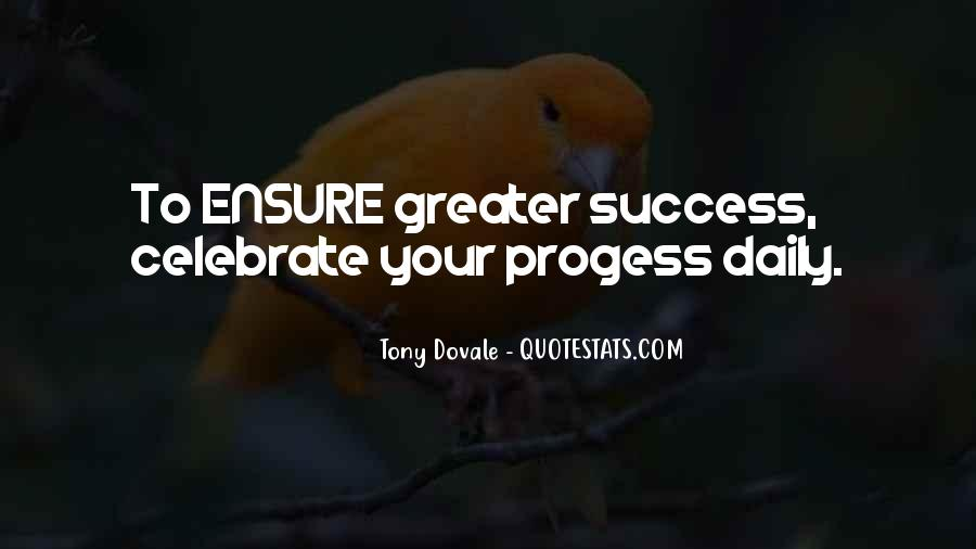 Greater Success Quotes #153601