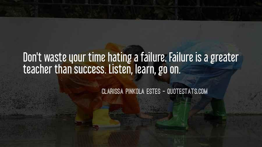 Greater Success Quotes #295987