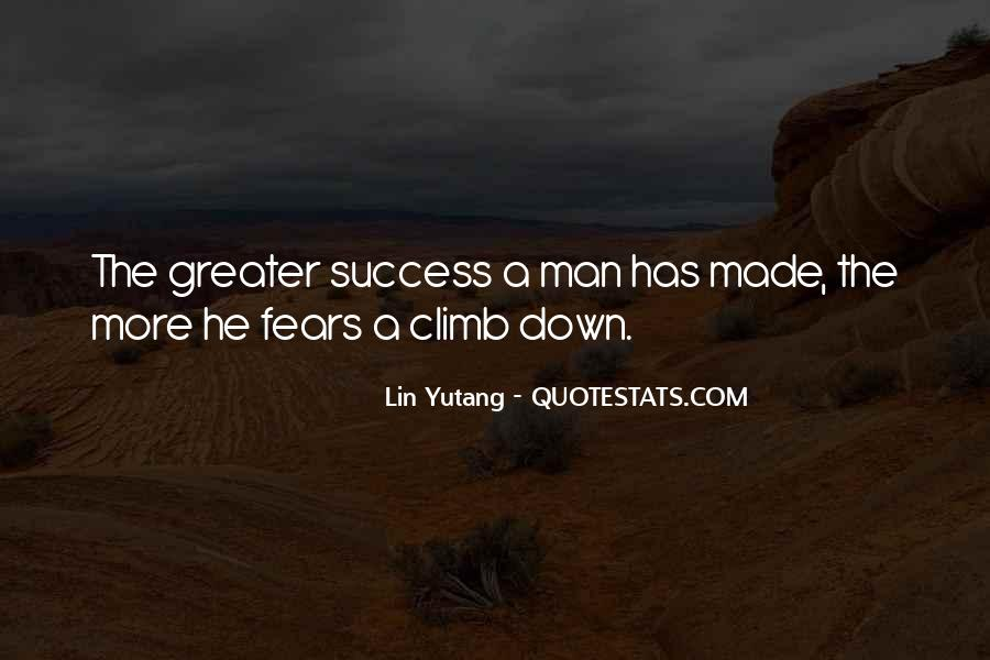 Greater Success Quotes #782875