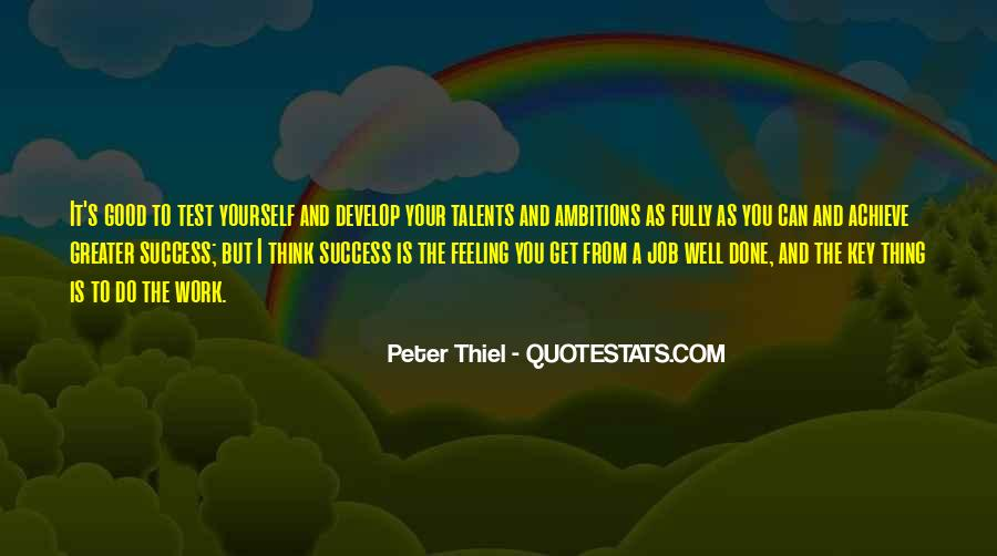 Greater Success Quotes #833568