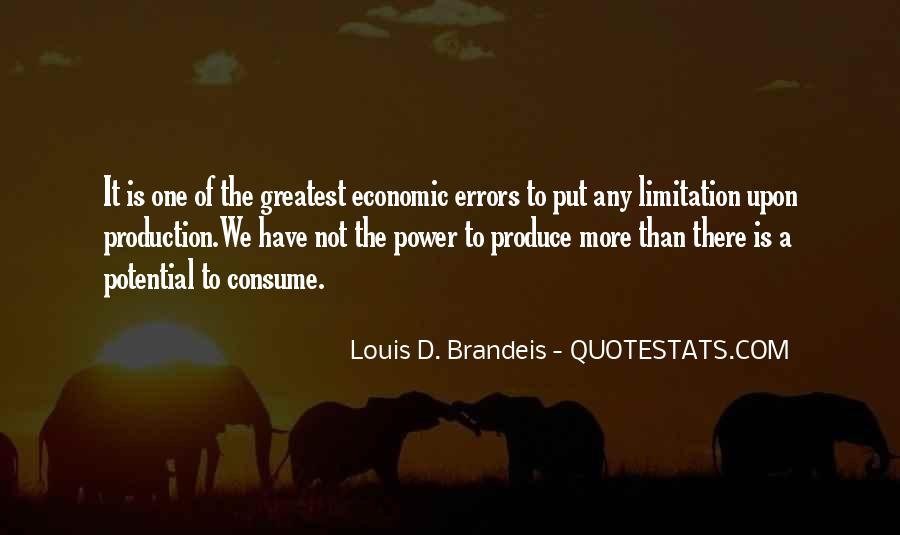 Greatest Economic Quotes #1404881