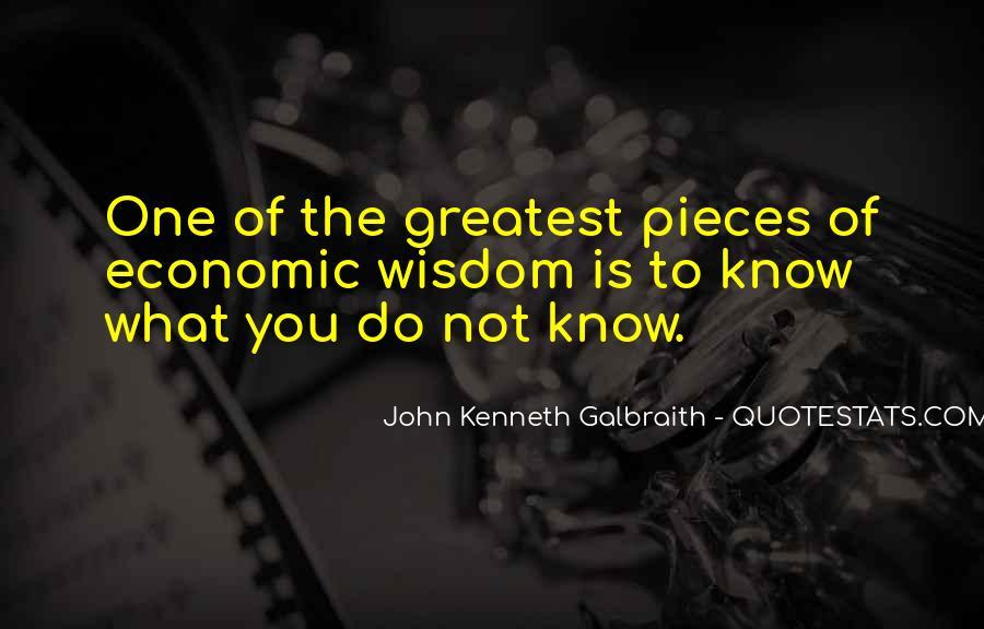 Greatest Economic Quotes #515998