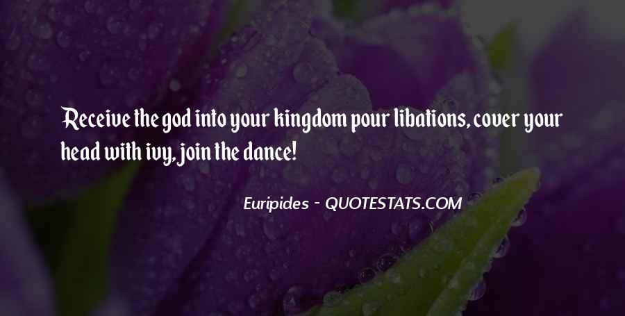 Greek God Dionysus Quotes #1196148