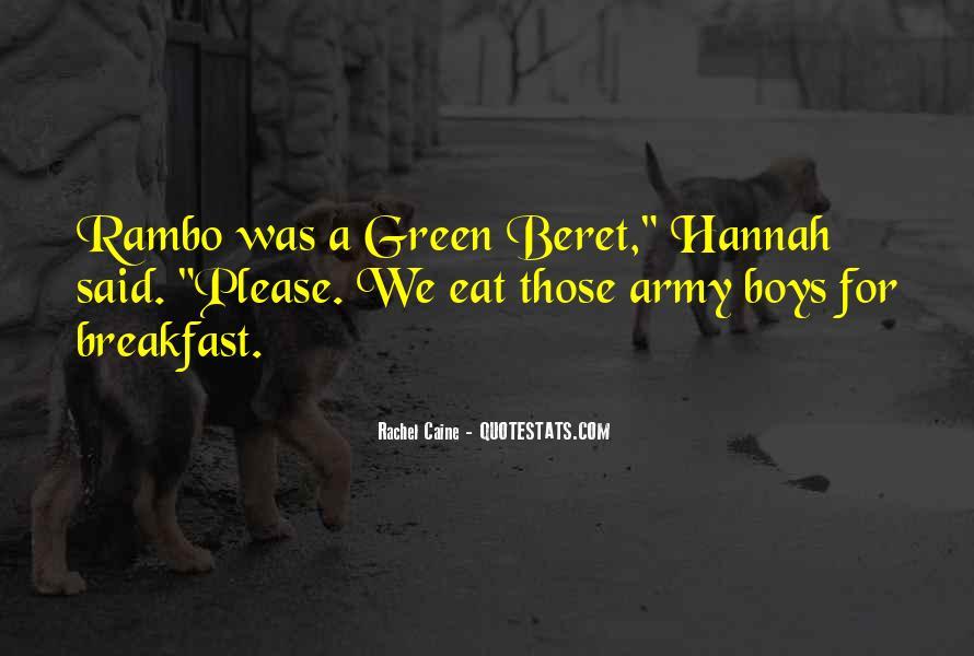 Green Beret Quotes #1402883