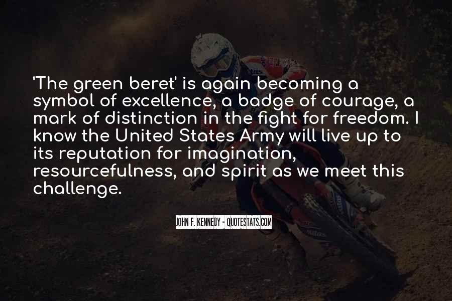 Green Beret Quotes #1489730