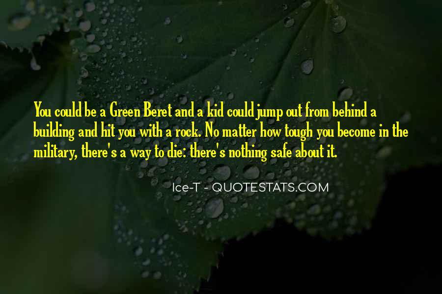 Green Beret Quotes #561595