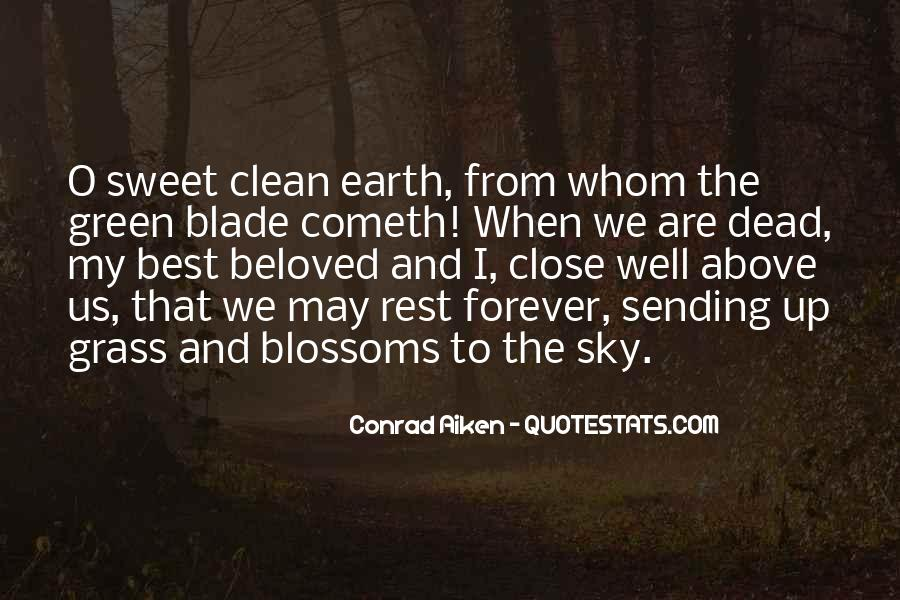 Green Earth Clean Earth Quotes #422919