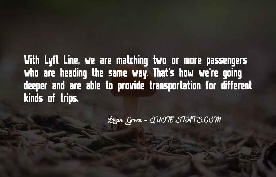 Green Line Quotes #404334