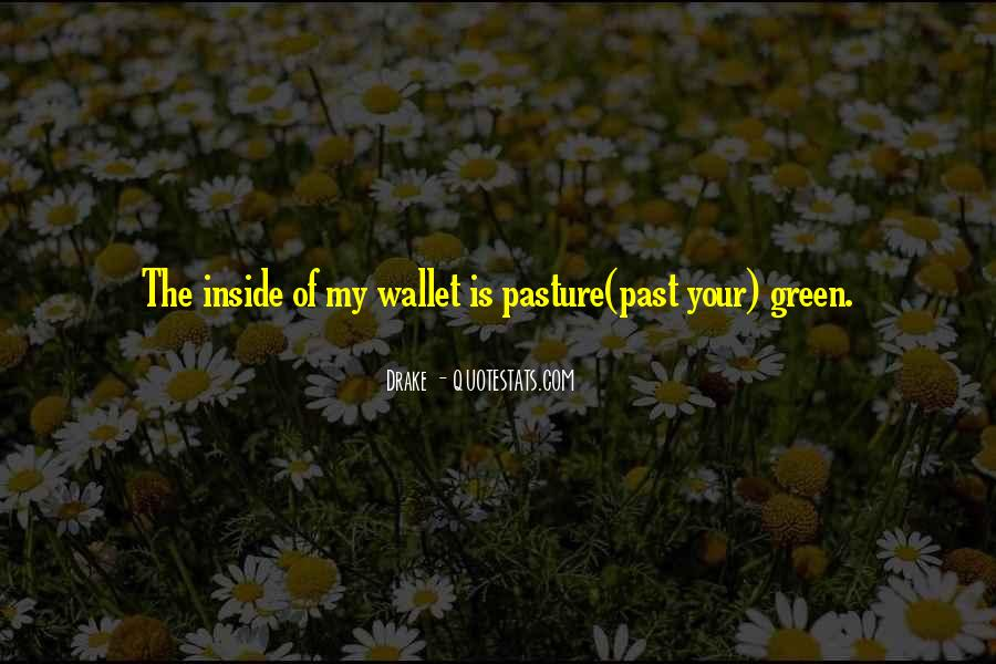 Green Pasture Quotes #476001