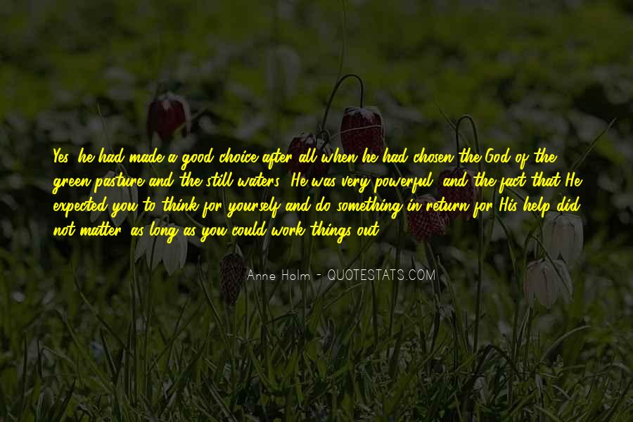 Green Pasture Quotes #718571
