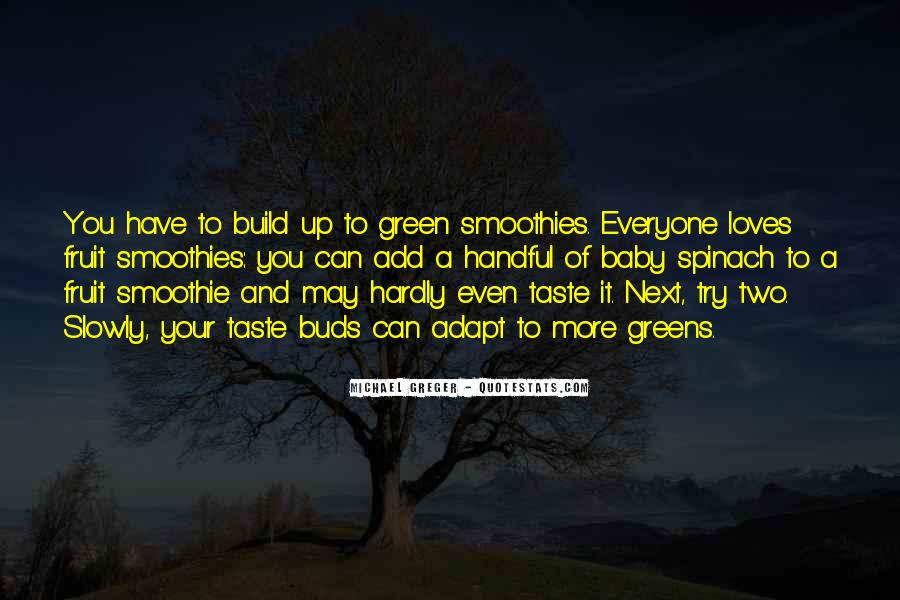 Green Smoothie Quotes #1033415