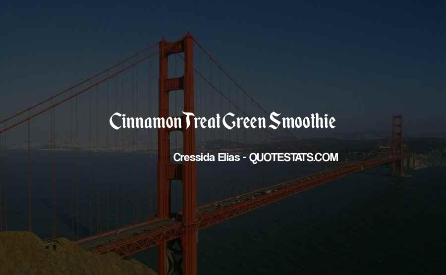 Green Smoothie Quotes #227828