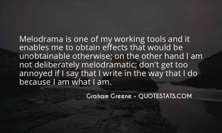 Greene Graham Quotes #215791