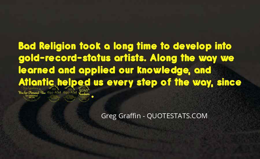 Greg Graffin Religion Quotes #1474996