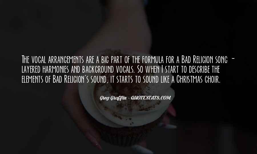 Greg Graffin Religion Quotes #316003