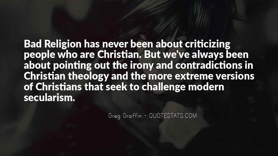 Greg Graffin Religion Quotes #391711