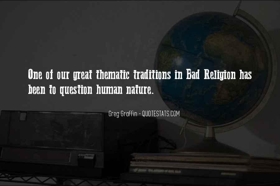 Greg Graffin Religion Quotes #883033