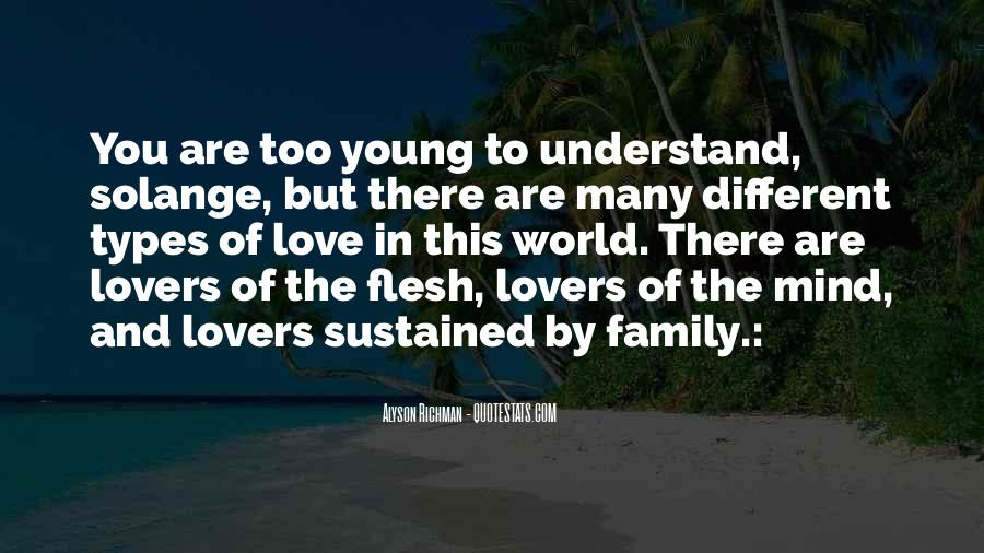 Quotes About The Different Types Of Love #747445