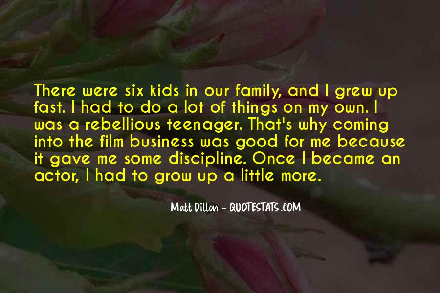 Grew Up Too Fast Quotes #475146