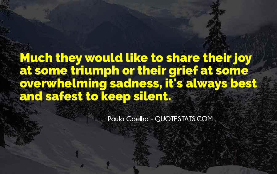 Grief Share Quotes #1078650